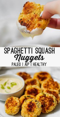 Paleo Spaghetti Squash Nuggets Aip Low Carb Best Ever