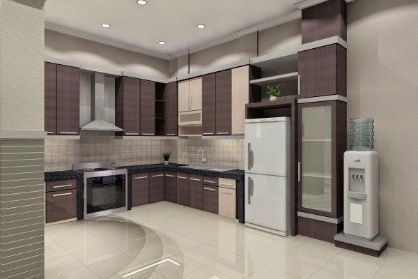 Gambar dapur minimalis moderen yang elegan dan mudah perawatannya