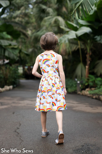 Girls casual party dress