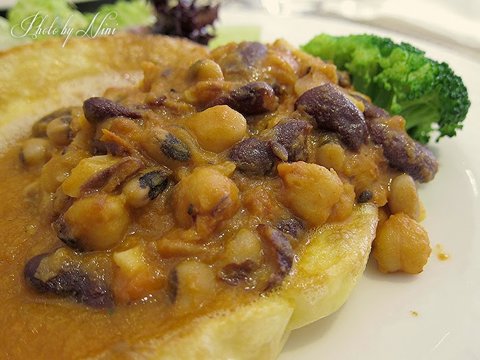 【台北大直】約克夏餐廳Yorkshire。約克夏布丁+錦繡培根豆