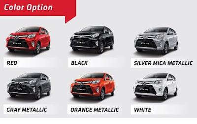 Warna Toyota Agya Paling Keren dan Harga Jual Tinggi Update 2017