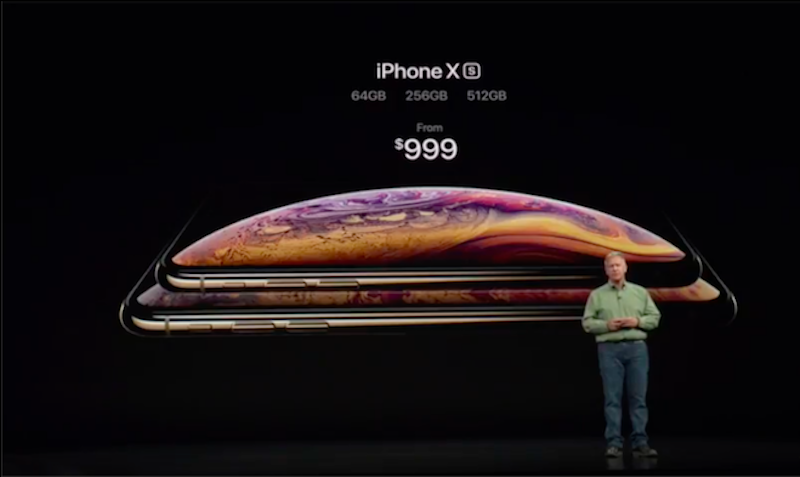 Apple iPhone Xs variants and pricing