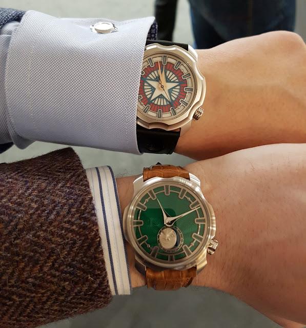 Sarpaneva Korona wristshot