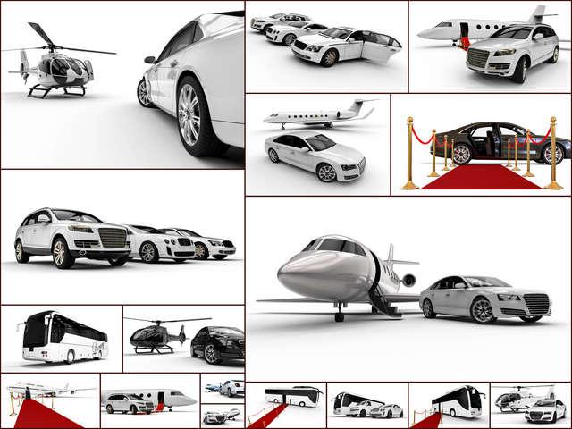 تحميل 17 صورة لنموذج ثريدي لسيارة النقل الفاخرة مع هليكوبتر بجودة عالية