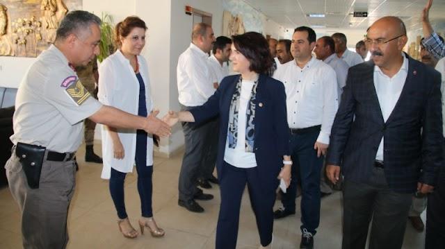 Milletvekili Açanal, Bozova'da sorunları dinledi