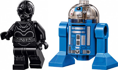 Death Star Droid & Imperial Astromech Minifigures