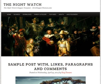 The Night Watch Blogger Template