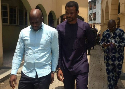 Photos: Lekki Gardens MD & Contractor Handcuffed To Court