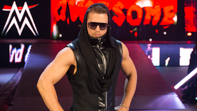 The Miz Entrance Ramp