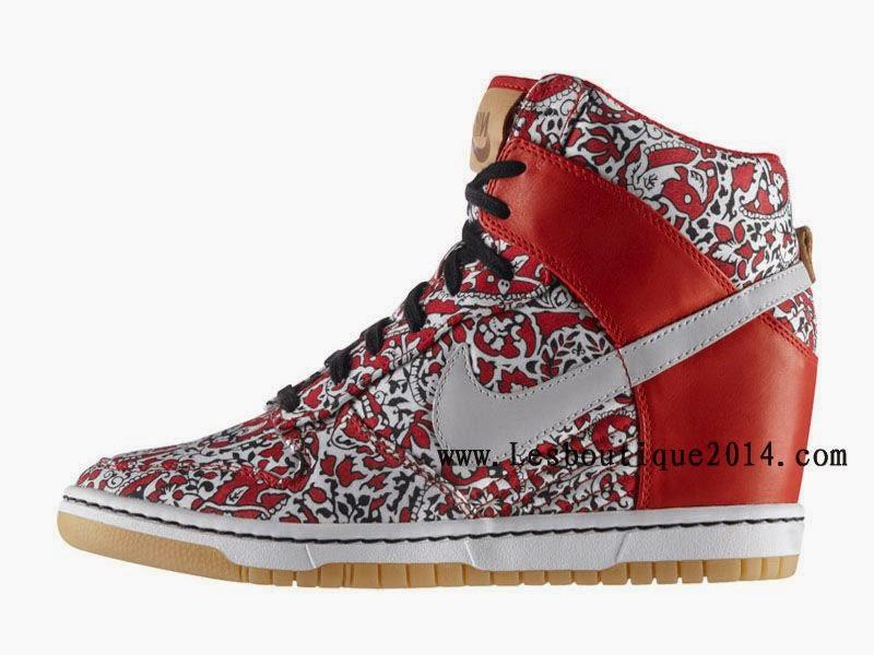 low priced 68446 69c19 Chaussure Basket Femme Nike Dunk Sky Hi Liberty 529040-600    Lesboutique2014.com