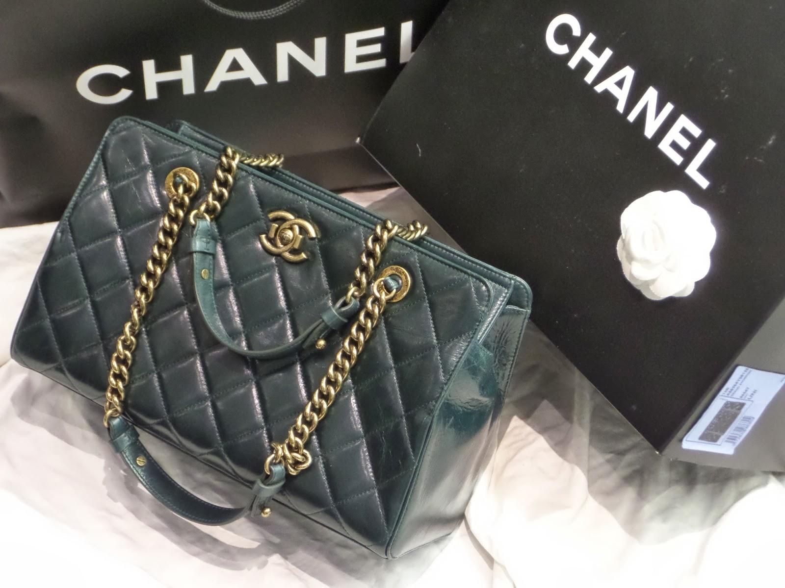 f3dee0e1f718eb Vancouver Luxury Designer Consignment Shop: Chanel Perfect Edge Tote Bag ~ Consign  Buy Sell Authentic Designer Consignment Vancovuer