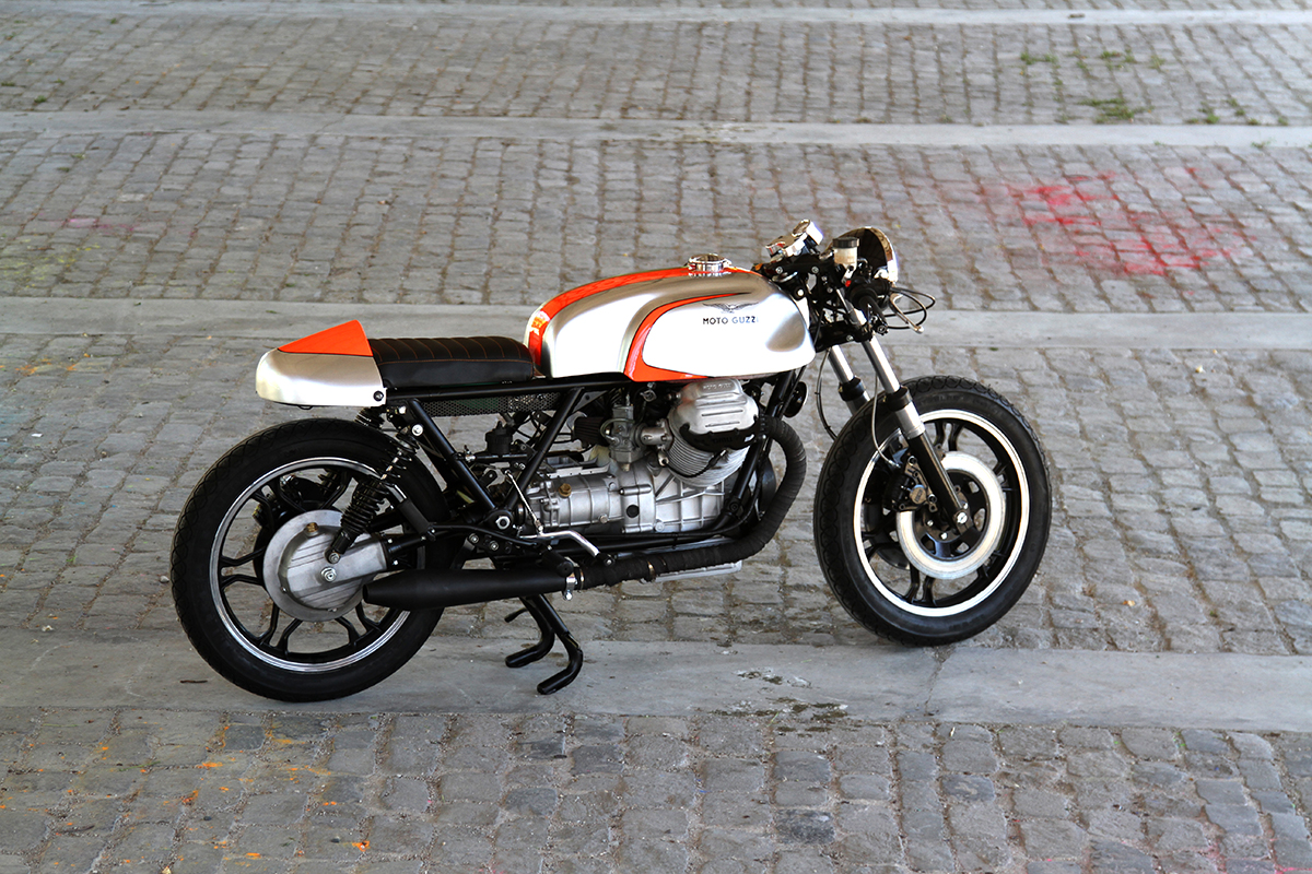 add lightness nitro cycles moto guzzi t3 return of the cafe racers. Black Bedroom Furniture Sets. Home Design Ideas