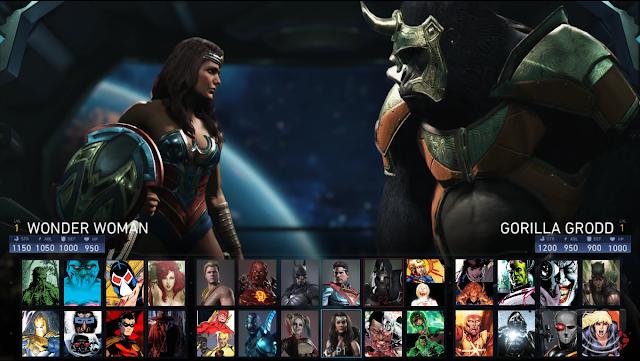 Se filtra supuesto plantel de personajes de Injustice 2