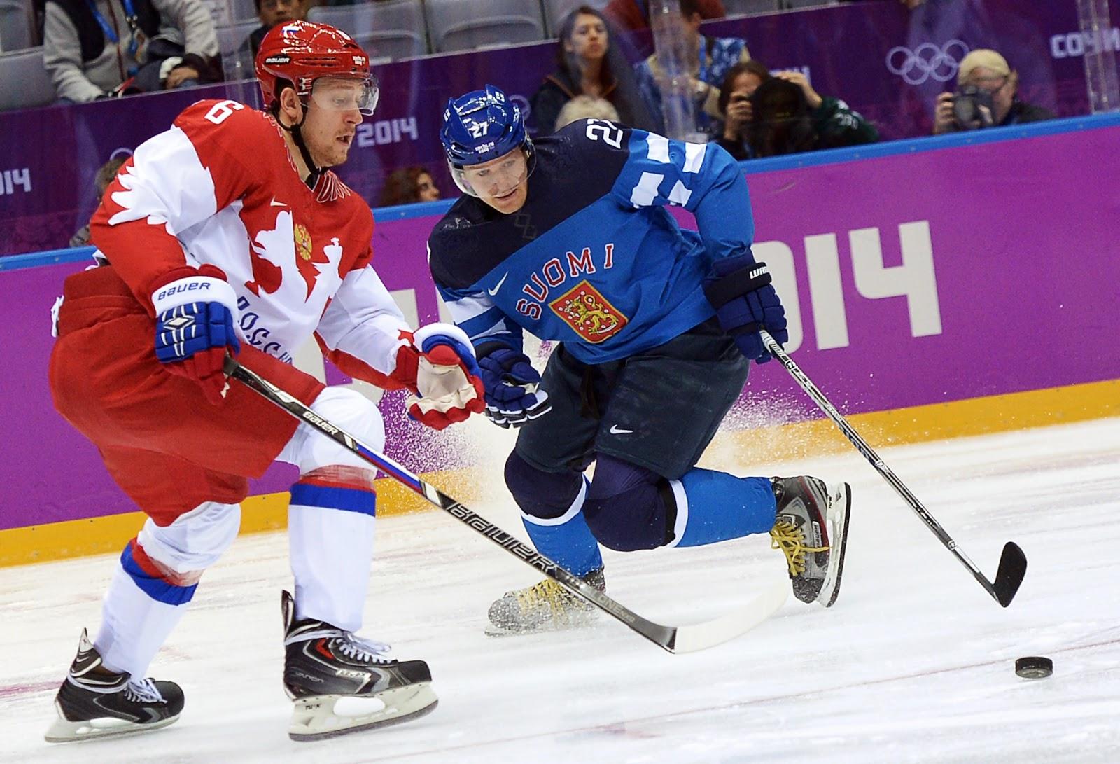олимпиада 2014 хоккей россия какое место заняла