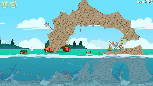 Angry Birds Seasons - Captura 2