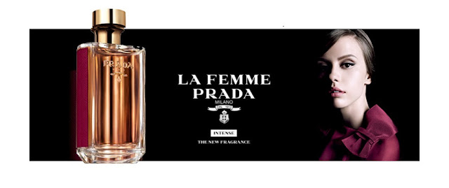 Reklama perfum Prada La Femme Intense