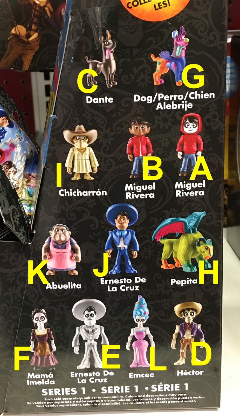 Mattel Disney pixar Coco Pepita 2017 Collectible Figurine