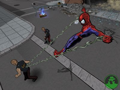 Ultimate Spider-man (PS2) 2005