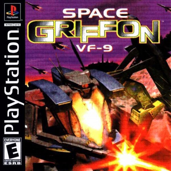 Space Griffon VF-9 [1997]   an awful Mech RPG build like a Dungeon