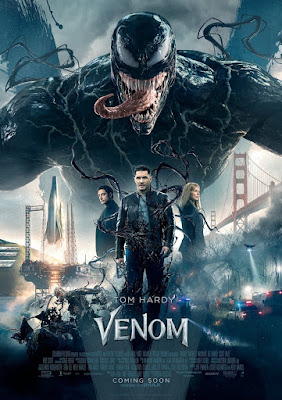 Marvel's Venom Final Theatrical One Sheet Movie Poster