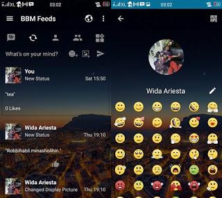 BBM Mod Transparan V3.3.1.24 Apk Change Background Full Features