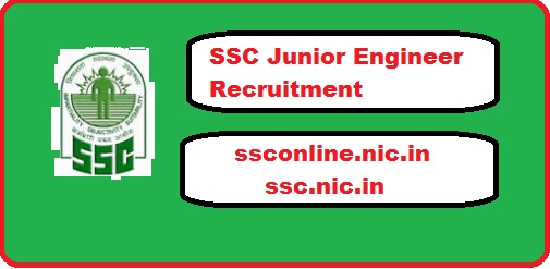 SSC Junior Engineer Recruitment 2018