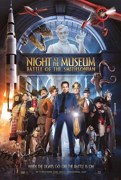 Poster of Night At The Museum 2 (2009) 720p Hindi BRRip Dual Audio Full Movie