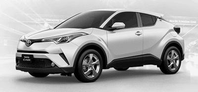 Toyota CHR White Pearl