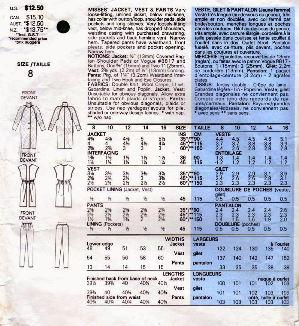 ab61cc7a84703 fabSEWnista, vogue patterns sewing projects