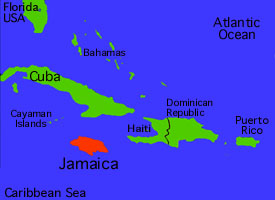 jamaica map1