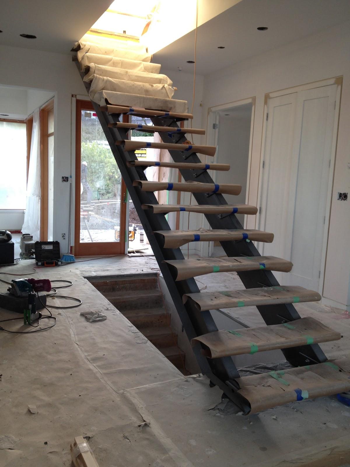 RONSE MASSEY DEVELOPMENTS: Steel Stair Stringers