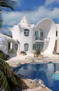 Sea Shell House by Octavio Ocampo 2