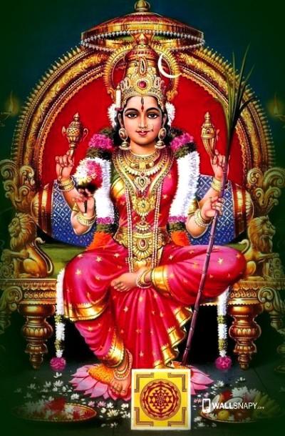 Hindu Goddess kamakshi mata pic
