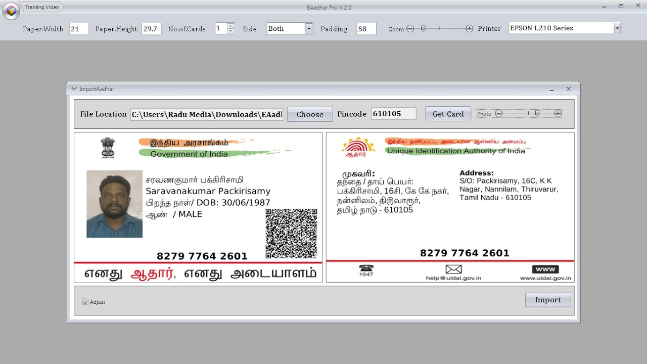 smart aadhaar pro license key crack free download