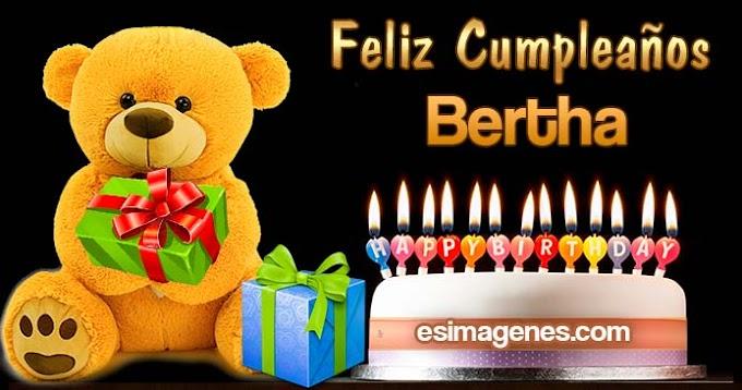 Feliz Cumpleaños Bertha