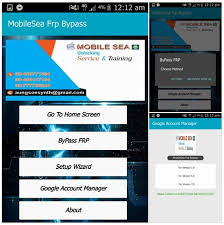 Mobilesea Frp Bypass apk Free Download