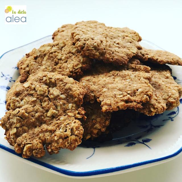 Galletas de avena jengibre y canela la dieta alea recetas saludables y blog de nutrici n y - Copos de avena bruggen ...
