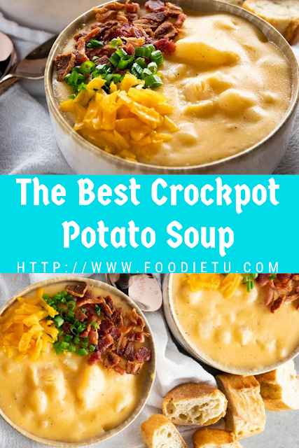 The Best Crockpot Potato Soup