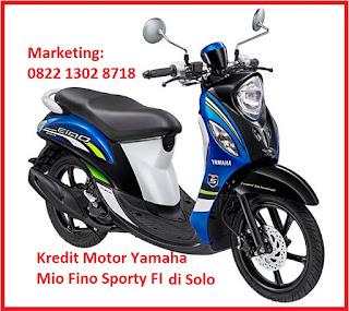 Brosur Harga Kredit Motor Yamaha Mio Fino Sporty FI di Solo