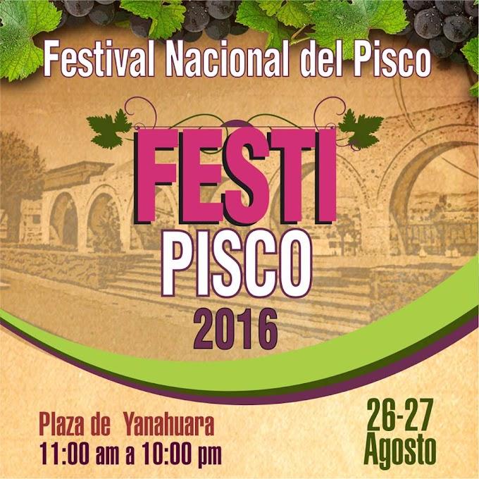 Festi Pisco - 26 y 27 de agosto
