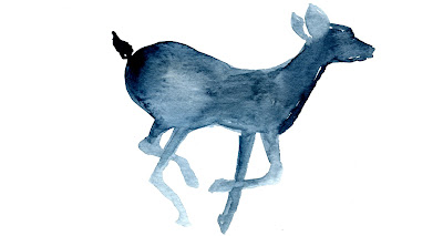 Watercolor Patronus Doe