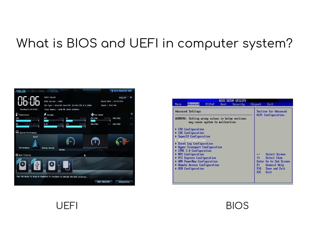 BIOS vs UEFI | Geekboots Story