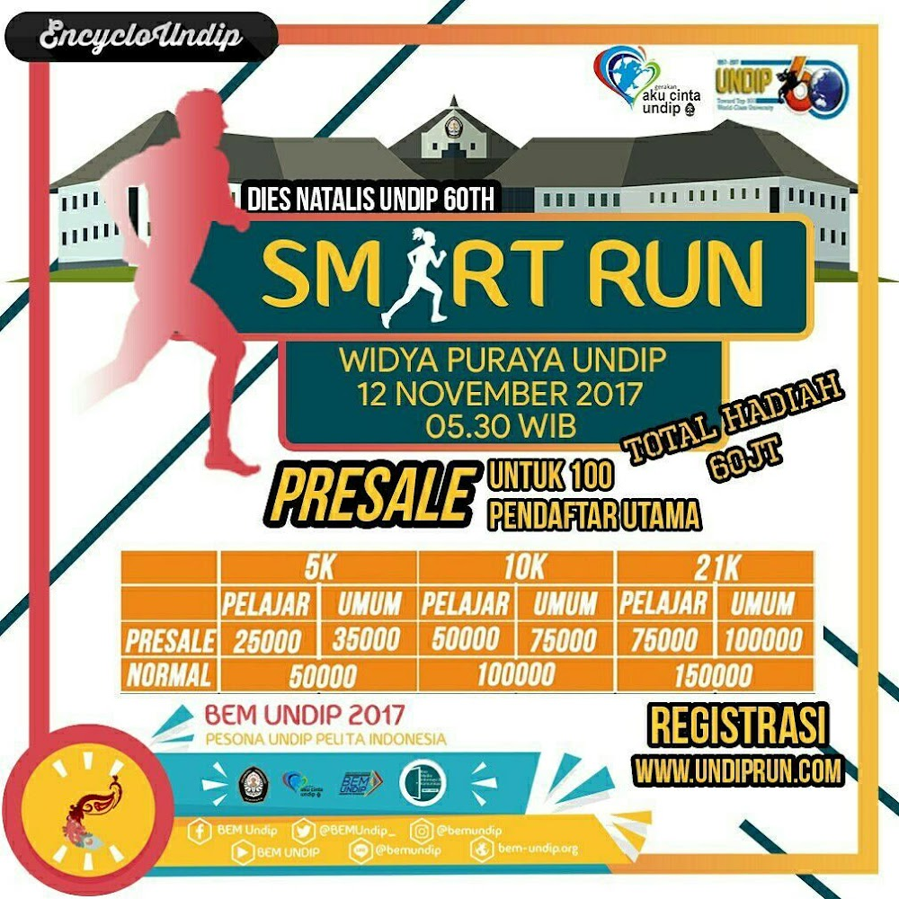 Undip Smart Run • 2017