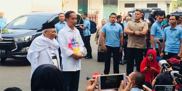 Di HUT ke-46 PDIP, Jokowi-Ma'ruf Bakal Beberkan Visi Misi