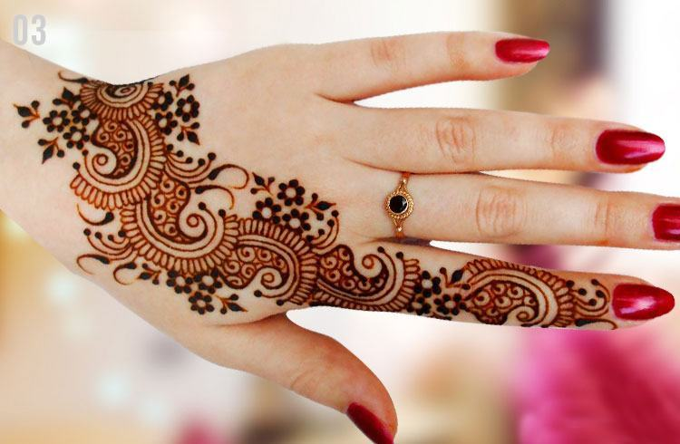 Mehndi Designs Simple Arabic Style : Mehndi designs videos lovely beautiful images