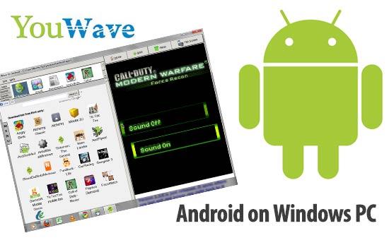شرح تحميل متجر جوجل بلاي اخر اصدار YouWave Android