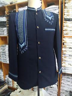 jasko bahan woll motif bordir surban