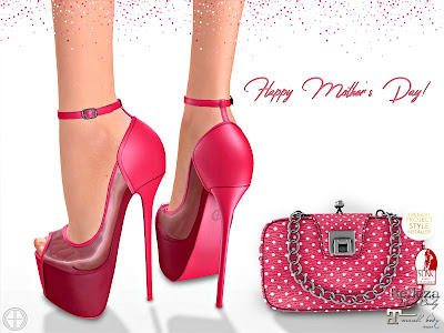 Mitzi Heels & Clutch Mother Day Group Gift by Hilly Haalan