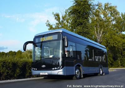 Solaris Urbino electric: w porównaniu ze spalinowymi pojazdami jest wyjątkowo cichy i nie emituje żadnych spalin