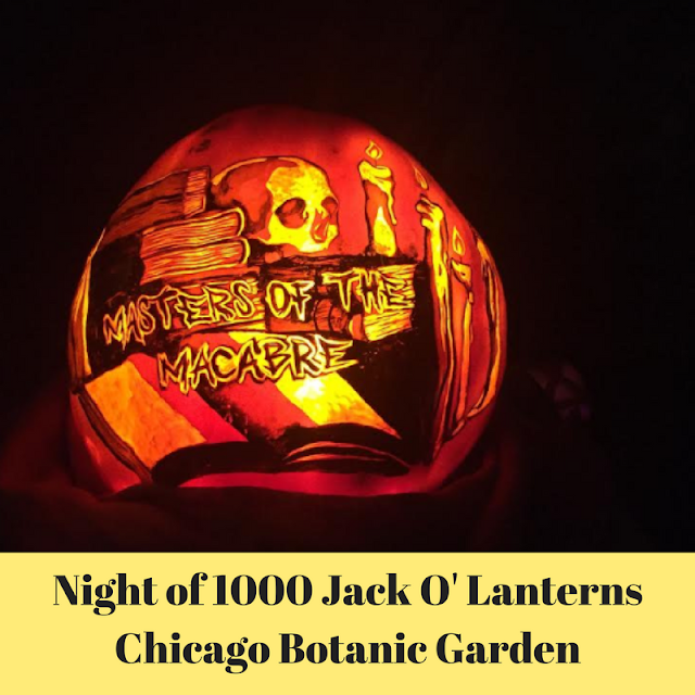 Night of 1000 Jack O Lanterns at Chicago Botanic Garden Wows